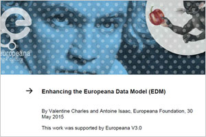 Imagen del White Paper: Enhancing the Europeana Data Model (EDM)