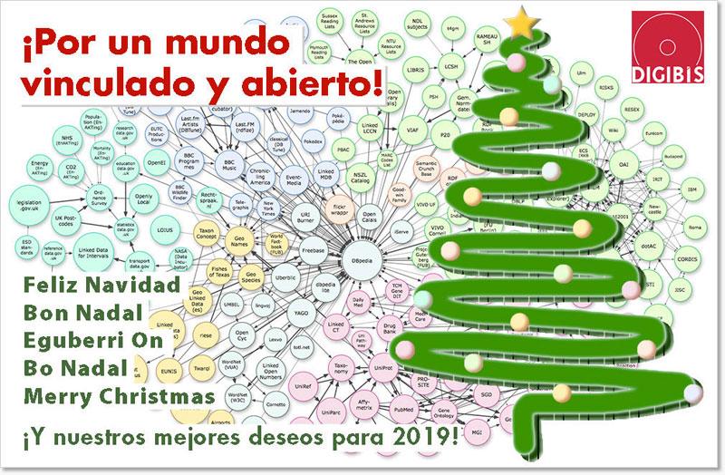 Imagenes Felicitacion Navidad 2019.Feliz Navidad Y Prospero Ano Nuevo 2019